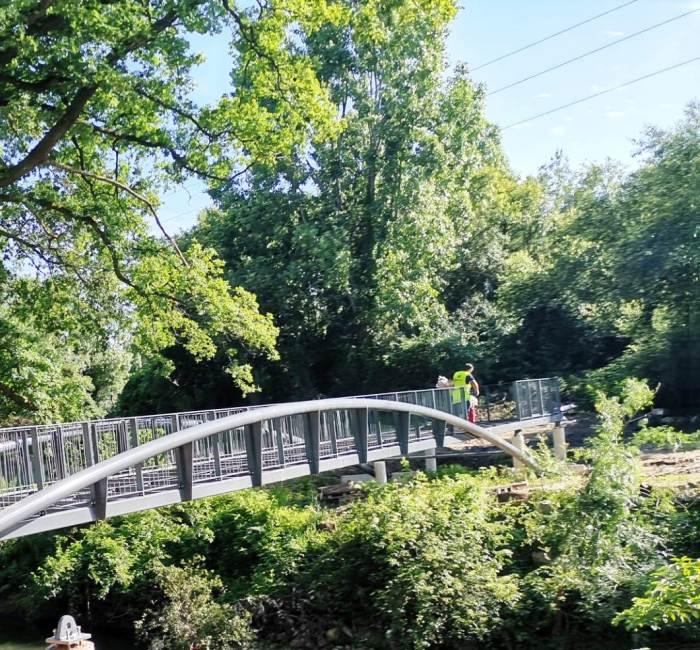 Ponte Pedonal – Corredor Verde do Leça